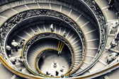 The Vatican Museums stairs — Stock Photo