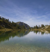 Landscape on the Italian alps — Stock Photo