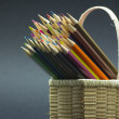 Color pencils composition — Stock Photo #32616453