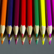 Color pencils composition — Stock Photo