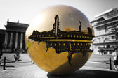 Arnaldo Pomodoro sculpture in Vatican Museums — Stock Photo