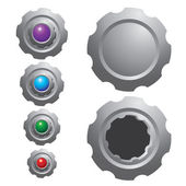 Gear Icon and text box — ストックベクタ
