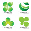 Stock Vector: Green Logo