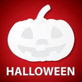 Pumpkin halloween paper — Stock Vector