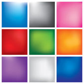 Blur abstract background set — Stock Vector