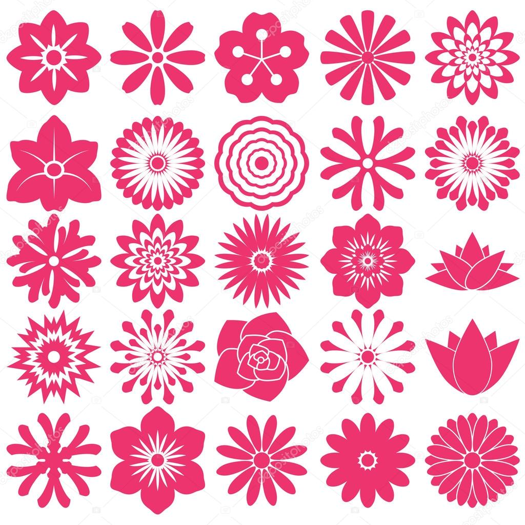 Flower symbol icon — Stock Vector © Pornthep