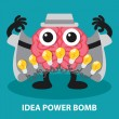 IDEA POWER BOMB — Stock Vector #47888863