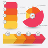 Infographik element design — Stockvektor