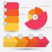 Infographic element design — Stock Vector