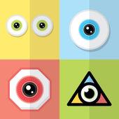 Eye design  — Stock Vector