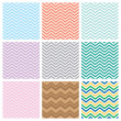 Chevrons seamless pattern background — Stock Vector