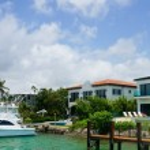 Luxury home miami — Stock Photo