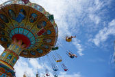 Carousel in motion — Stock Photo