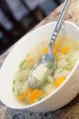 Chicken noodle soup — Foto de Stock