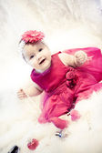 Fasion baby girl — Stock Photo