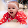 Christmas baby girl — Stock Photo #28996991