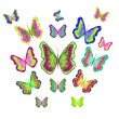 Butterflly — Vector de stock #29900353