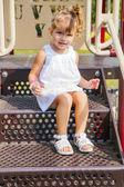 Pretty baby girl — Stock Photo