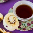 English tea with cookies — Stock Photo