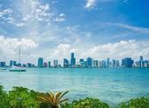 Miami skyline at daytime — Stock Photo