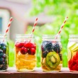Detox water cocktail — Stock Photo #47884003