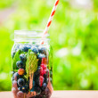 Detox water cocktail — Stock Photo #47884395
