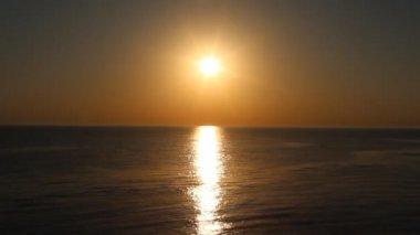 Beautiful ocean sunrise — Wideo stockowe