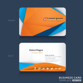 Business cards Design Template — Stock Vector