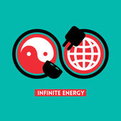 Infinite Energy concept illustration — Stock Vector
