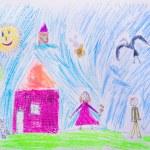 Children's drawing — Stock Photo #28966481