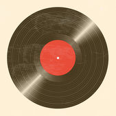 Old vinyl record — Stockvector