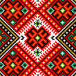 Ukrainian ornament embroidery — Stock Photo #37064279