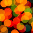 Defocused Christmas lights — Stock Photo