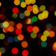 Christmas lights background — Stock Photo