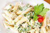 スパゲティ カルボナーラ — ストック写真