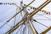 Tallship mast — Foto Stock
