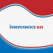 Independence day background — Stock Vector