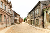 Old City Cobblestone Street — 图库照片