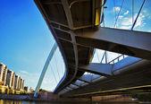 мост в городе астана — Стоковое фото