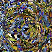 Colorful kaleidoscope design template — Wektor stockowy