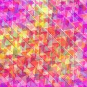 Retro pattern of geometric shapes. — Stock Vector