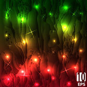 Abstract disco glowing background. — Stock Vector