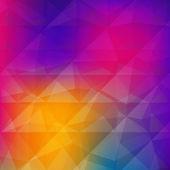Abstrakt triangel geometrisk bakgrund. — Stockvektor