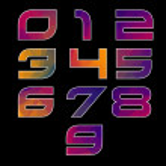 Trendy multicolored Geometric Alphabet. — Stock Vector #44130063