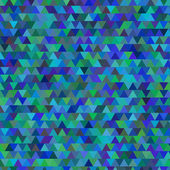 Vector grunge retro triangle spring background — Vector de stock