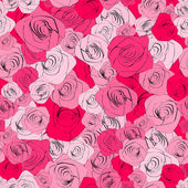 Vintage floral seamless pattern. EPS8 vector. — Stock Vector