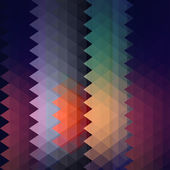 Vector grunge retro triangle background — Vector de stock
