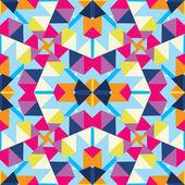 Fond abstrait kaléidoscope multicolore — Vecteur