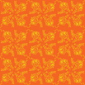 Vector flowers elegant seamless pattern — Stock Vector