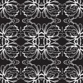 Vektor blommor elegant seamless mönster — Stockvektor